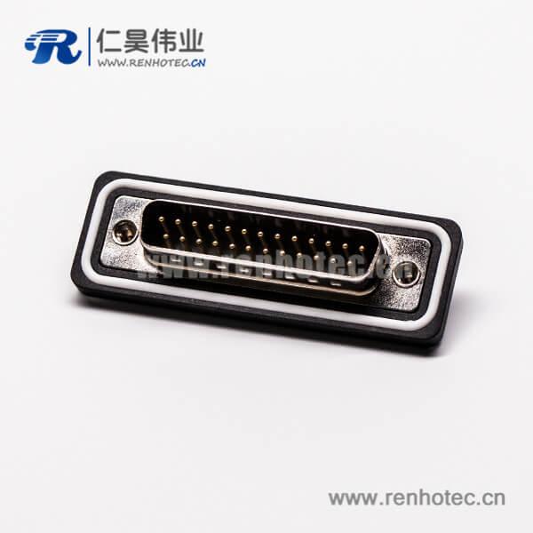 25d-sub接口显示器防水公头直式车针焊接