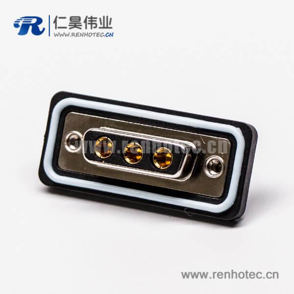 d sub3w3防水母头直式接线焊接车针镀金