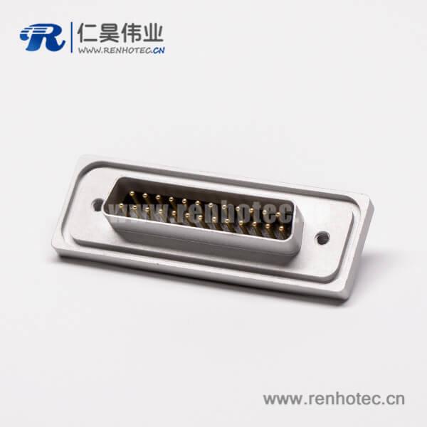 db25双排公头防水直式车针金属面板焊接