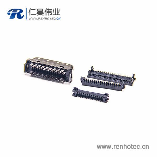 SCSI公头连接器36针HPCN刺破式直式插头