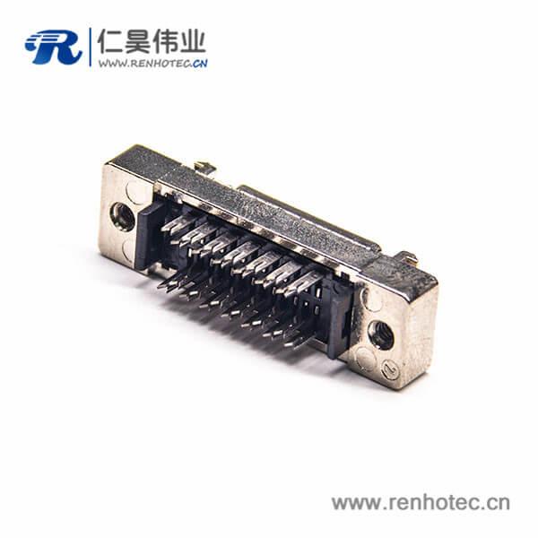SCSI直插连接器刺破式插座HPDB26芯母头