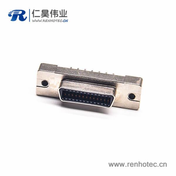 SCSI26HPCN芯母头直式插板插座连接器